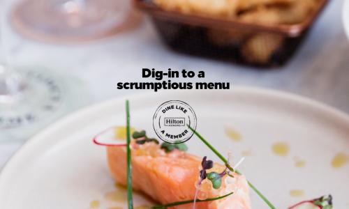Dine like a member - Hilton Honors